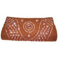 Brown Bridal Purse