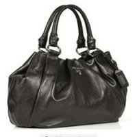 Black Leather Ladies Office Bags