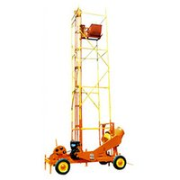 Mobile Hoist Attached Mixer