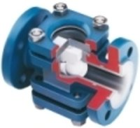 Fep Lined Sight Glass Valves