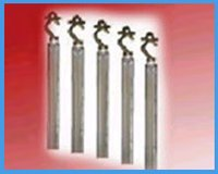 Rib Anode With Single Hook