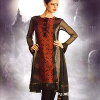 Cotton Salwar Kameez With Dupatta