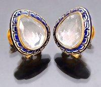 Polki Ear-Rings