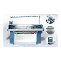 Fully Computerized Collar Knitting Machine
