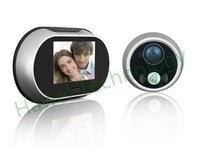 3.5 inch LCD Screen Digital Door Peephole Viewer with Doorbell (HT-D110A)