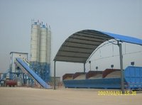 Concrete Mixing Plant HZS25 with Capacity of 25M3/H