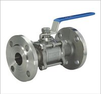 3 Piece Flanged Ball Valves