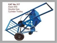 Asian Ms Double Gas Cylinder Trolley