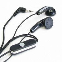 Colorful Hands Free Mobile Phone Earphones
