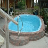Fibre Glass Swimming Pool