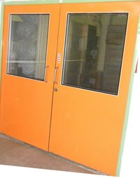 GI Flush Door PUF Insulated