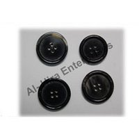 Horn Finish Buttons
