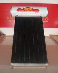 Integrated Pressurized Flat Plate Solar Water Heater