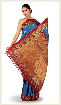 Womens Elegant Silk Sarees