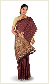 Womens Party Wear Silk Sarees