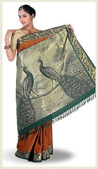 Classic Pattern Silk Sarees