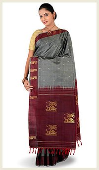 Ethnic Look Silk Sarees