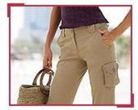 Ladies Trendy Trousers