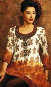 Net Embroidered Tunics