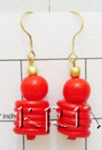 Stylish Costume Jewelry Hanging Earrings