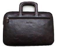 Black Leather Briefcase Shape Bags