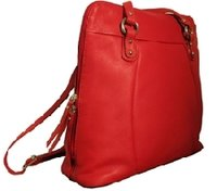 Ladies Leather Back Pack Bags