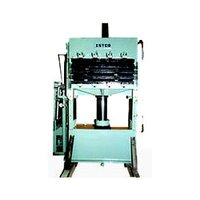 Hydraulic Multi Daylight Cork Moulding Press