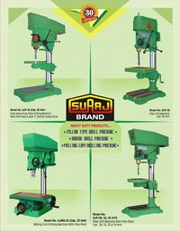 Heavy Duty Geared Pillar Type Drill Machine