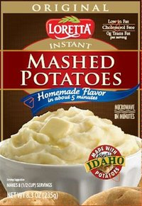 Loretta Instant Mashed Potatoes