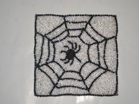 Beaded Square Coaster