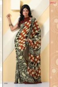 Ladies Fancy Print Sarees