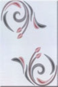 Designer Printed White Wall Tiles