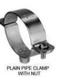 Plain Pipe Clamps With Nut