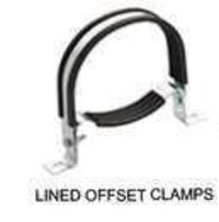 Lined Offset Clamps