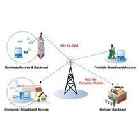Campus and Metropolitan Area Networks Over Wireless Services