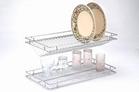 Glass And Plate Tray