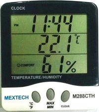 Digital Thermo Hygrometer Model: TEMPTEC