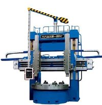 Double Column Vertical Lathe Machine