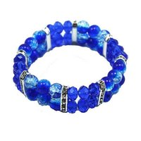 8mm Crystal And Glassbeads Bracelets