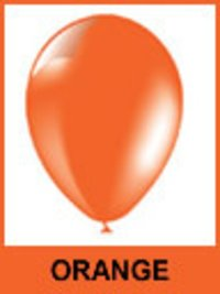 Designer Orange Color Balloons
