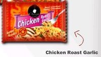 Chicken Roast Garlic Instant Noodles