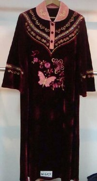 Ladies Embroidered Night Gowns