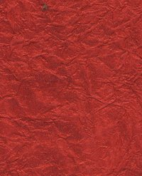 Red Color Metallic Crinkles Paper