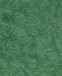 Green Color Metallic Crinkles Paper