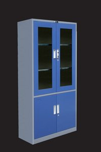 Steel Glass Doors Filing Cabinets