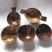 Coconut Shell Hand Made Bowls