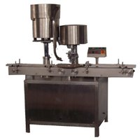 Automatic Single Vial Cap Sealing Machine