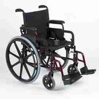 Wheel Chair Folding Adult Size-Super