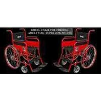 Wheel Chair Folding Adult Size-Deluxe