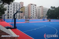 Outdoor Basketball Court Floorings